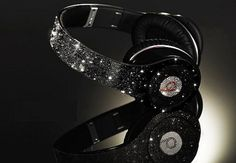 Champagne and Caviar Dreams Cute Headphones, Headphones For Sale, Over Ear Headphones, Bluetooth Headphones, Sports Headphones, Beats By Dre, Headset, Cheap Beats, Girly Things