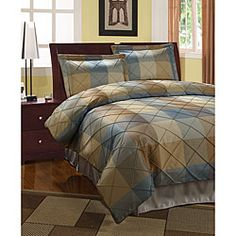 @Overstock - Elegant 3-piece duvet set is a welcome addition to your bedroom Duvet bedding set comes with two matching shamsRoyal court duvet cover will add style and color to your bedroomhttp://www.overstock.com/Bedding-Bath/Royal-Court-3-piece-Blue-Duvet-Cover/3731132/product.html?CID=214117 $49.99