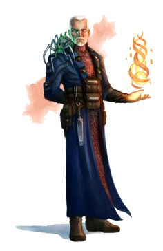 m Wizard Male Human Wizard - Pathfinder PFRPG DND D&D d20 fantasy
