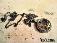 Kalina - Steampunkowy naszynik / Steampunk necklace