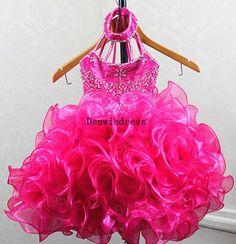 Ball Gown Spagetti Straps Sleeveless Short Mini by Denwisdress, $89.00