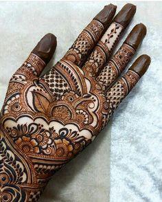 Beautiful and Stylish Henna Mehndi Designs for Hand - Kurti Blouse