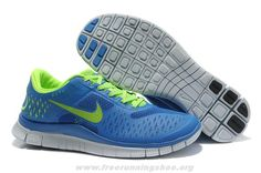 Nike Free 4.0 V2 Mens Royal Blue Volt 511472-005 For Sale