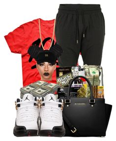 """""""keepin it"""" by ballislife ❤ liked on Polyvore featuring Marc by Marc Jacobs, Blood Brother, MICHAEL Michael Kors and Retrò"""