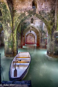 Pool of the Arches . Israel