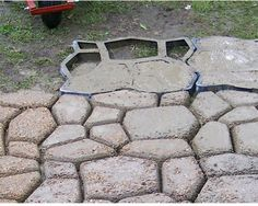 2016 Pavement Mold For Making Pathways For Your Garden Concrete ...