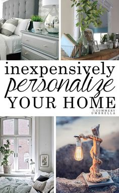 Do you know how to inexpensively personalize your home? We do!! Come check out this how-to guide that will help you get started in the right direction NOW!