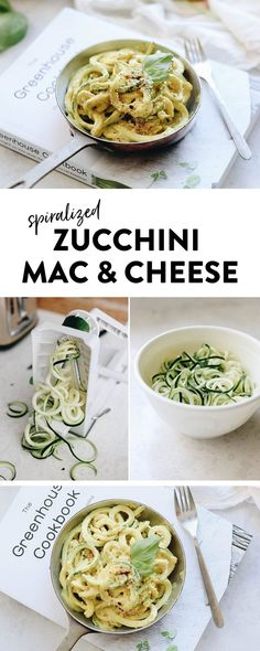 Mac and cheese just got a healthy makeover with this spiralized zucchini mac and cheese recipe! Seasonal zoodles are coated with a vegan cheeze sauce and topped with a delicious oat crumble for your next weekday dinner! #macandcheese #vegan