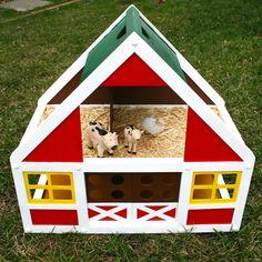 Jax's Barn - Wooden Dollhouse Makeover
