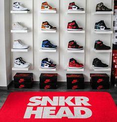 Shoe Room, Shoe Wall, Shoe Closet, Sneaker Storage, Shoe Storage, Zapatillas Jordan Retro, Hypebeast Room, Shoe Display, Hype Shoes