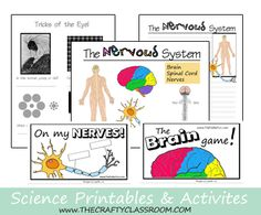 The Crafty Classroom Printables (Includes Scientific Methods, Science Activities, Math Mats, & More)