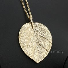 New Retro Gold Large Natural Leaf Pendant Design Long Sweater Chain Maxi Necklace For Women Luxury Jewelry Accessorize Gold Plated Necklace, Leaf Necklace, Simple Necklace, Pendant Necklace, Gold Necklace, Colar Fashion, Fashion Necklace, Charm Jewelry, Gold Jewelry