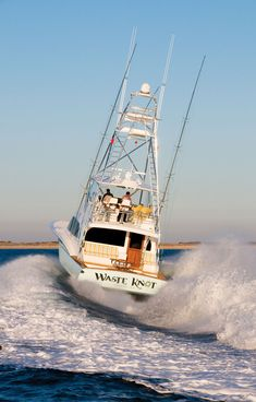 Waste Knot, Jarrett Bay Boatworks #yacht #boating #boatinglife