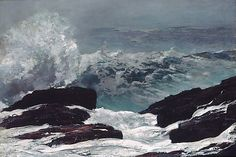 Maine Coast Winslow Homer (American, Boston, Massachusetts 1836–1910 Prouts Neck, Maine)