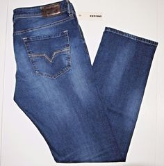 Diesel men's jeans style name LARKEE size 33x32 wash # 0840F NEW on SALE #DIESEL #StraightLeg