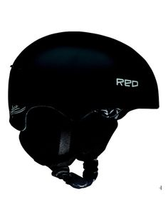 SPIN Red Pure Ski Helmet
