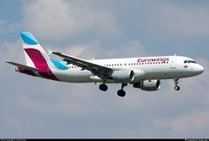 D-ABFP Eurowings Airbus A320-214