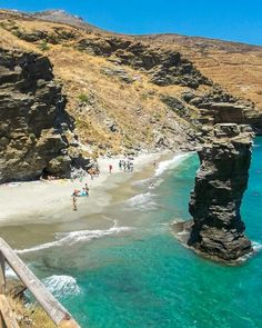 Andros Greece, Places Around The World, Around The Worlds, Heaven On Earth, Greece Travel, Greek Islands, Vacation Spots, Athens, Beautiful Places