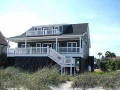 Edisto Realty - Toady's Way - New and Updated Beachfront Home - Edisto Island, SC