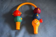 Baby Einstein Discovery & Play Exersaucer Caterpillar Bead Arch Toy Replacement #Graco