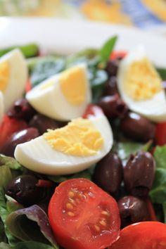 Vegetarian Salad Nicoise: My Finnish Delights