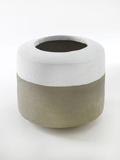 Concrete pot - Mingpot by Serax Homeware Uk, Concrete Pots, Mid Century Modern Furniture, Mid-century Modern, Artisan, Porcelain, Pottery, Ceramics, Tableware