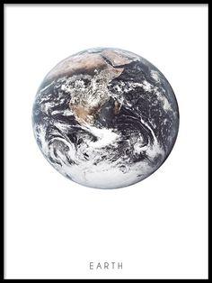 Earth print - Desenio