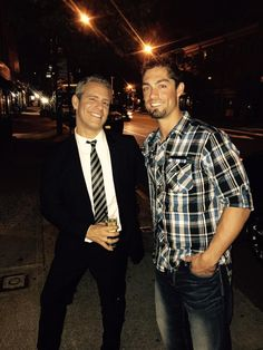 Randal Grichuk hanging with Andy Cohen in NY. 5-20-15