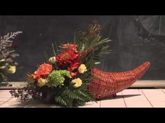 A Variety of Thanksgiving  Table Centerpieces