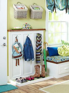 Small Mudroom Ideas Worth Stealing. Simple AdditionSmall Entryway  OrganizationKids ...