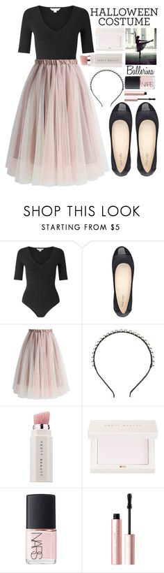 """Last-Minute Halloween Costumes"" by alaria ❤ liked on Polyvore featuring Miss Selfridge, Nine West, Chicwish, Forever 21, Puma, NARS Cosmetics, Too Faced Cosmetics and lastminutecostume"