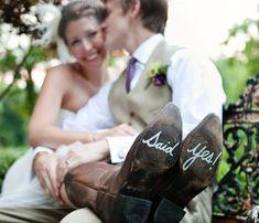 Zapatos con mensaje