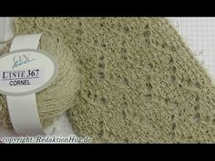 Tunisian Crochet - Ajourmuster Paris (IN GERMAN - If you are familiar with Tunisian Crochet you can watch this video to learn this stitch... The video is very good... Deb)