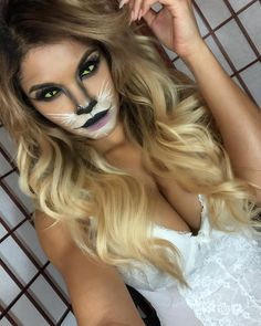 Cute 30+ Cute Cat Makeup Ideas For Halloween Party https://www.tukuoke.com/30-cute-cat-makeup-ideas-for-halloween-party-14098