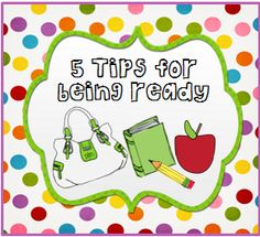 Journey of a Substitute Teacher: 5 Tips To Get Ready For The School Year