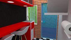 Cozinha/área de refeições para funcionarios - MD Studio de beleza