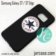 Black Converse Phone Case for Samsung Galaxy S7 & S7 Edge