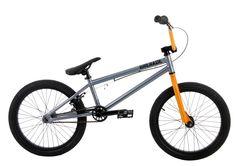 """Grenade B2 Men's BMX Bike Grey 20in/20.4in. FRAME: CroMo Main Tubes w/ 20.4"""" Top Tube. FORKS: HiTen Forks. BARS: HiTen 8"""" Rise Bars. GRIPS: Shrapnel Fragment Grips. STEM: Shrapnel Fuse Alloy Stem."""