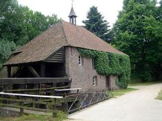 Flour and oil mill, Leumolen of St. Ursulamolen, Nunhem, the Netherlands.