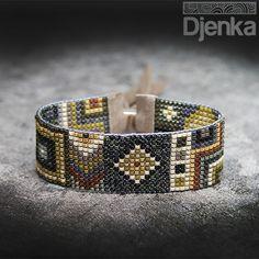 Bransoletka etniczna - beading - Chacao - Djenka