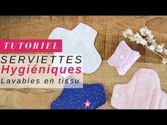 Tuto serviettes hygiéniques lavables en tissu Oeko Tex et Micro polaire - Perles & Co