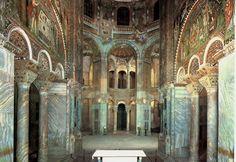 51. San Vitale, Interior. Ravenna, Italy. Early Byzantine Europe. c. 526–547 C.E (Image set, 2/5)