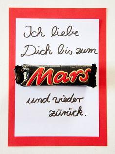 Ich liebe dich bis zum Mars und wieder zurück!