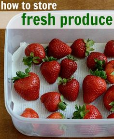 Learning how to store fresh produce properly is essential if you want to avoid throwing away wilted lettuce and moldy berries. Here are five tips that will help you to keep your fruit and veggie supply fresh until you're ready to eat it.