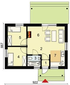 Kit casa lemn 62 mp Brasov • OLX.ro Design Case, Safari, House Plans, Floor Plans, How To Plan, Fasion, Houses, Apartments, Fashion