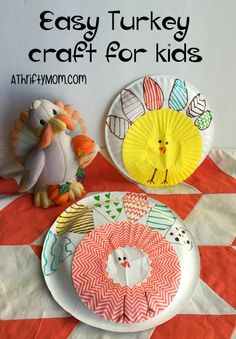 Easy turkey craft fo