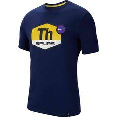 Nike Tottenham Hotspur Men's Soccer T-Shirt (Binary Blue) Manchester City, Manchester United, Steven Gerrard, Ac Milan, Arsenal Fc, Chelsea Fc, Liverpool Fc, Psg, Messi