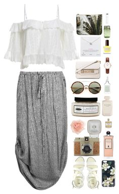 """Maui"" by surferblood ❤ liked on Polyvore featuring ASOS, Sonix, Lomography, Serge Lutens, de-luxe, Elie Saab, Drybar, Proenza Schouler, Dogeared and Library of Flowers"