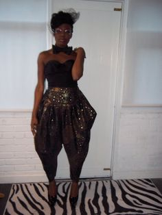 Glam Bianca Harem Pants / All in One Jumpsuit