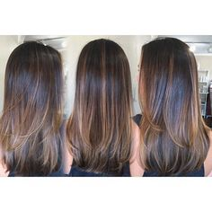 Image result for balayage straight hair